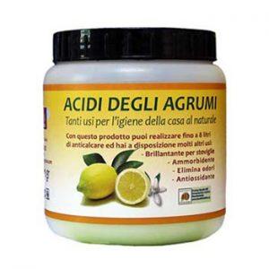 Acido cítrico en polvo
